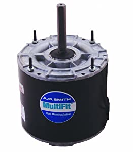 AO Smith 97225.0-Inch Frame Diameter 1/8 HP 1075 RPM 208-230-Volt 0.9-Amp Ball Bearing Multi-HP