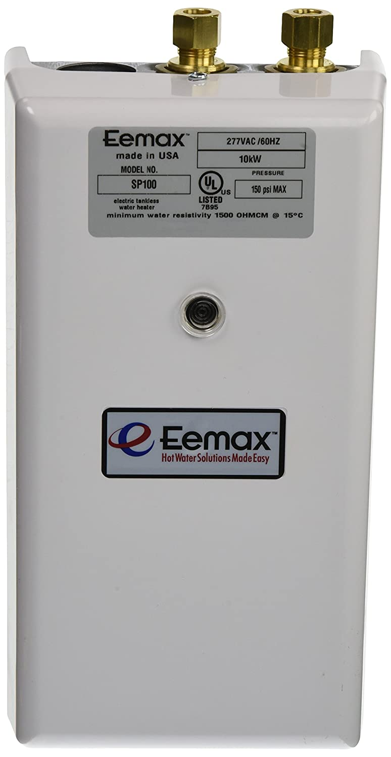 Eemax SP100 10.0KW 277V Single pt. Electric Tankless Water Heater by Eemax B004J4SWRG