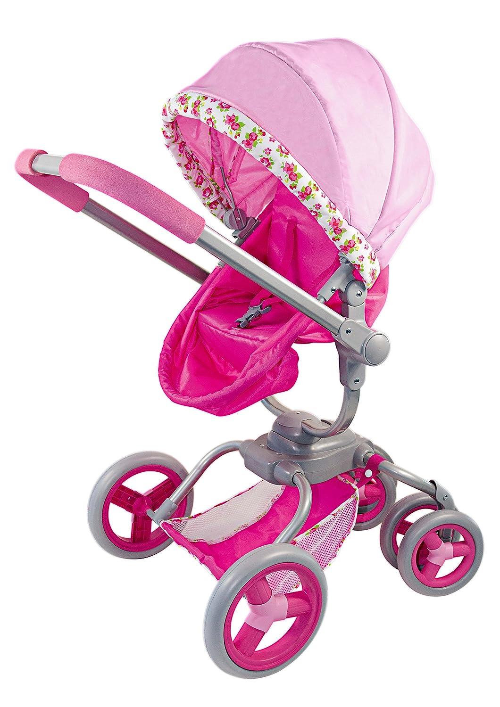 Amazon.es: itsImagical Carrito para muñecos de Color Rosa Imaginarium 87987: Juguetes y juegos