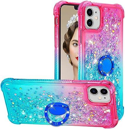 Dclbo Coque pour iPhone 11, Housse Case Coque Liquide Paillette ...
