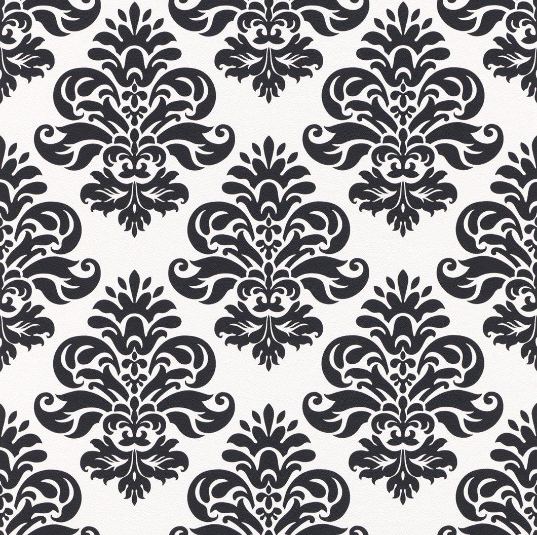 tapisserie baroque noir vintage vecteur or papier peint. Black Bedroom Furniture Sets. Home Design Ideas
