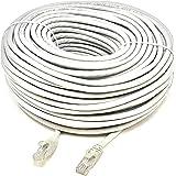 Mr. Tronic 30 Mètres Câble de Réseau Ethernet 30m | CAT6, AWG24, CCA, UTP, RJ45 | Color Gris