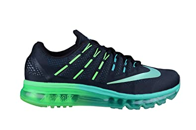 f1cce63b68 Amazon.com | Nike Air Max 2016 Mens Running Trainers 806771 Sneakers Shoes  (UK 9 US 10 EU 44, Black Metallic Turquoise 003) | Road Running