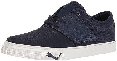 PUMA Men's EL Ace Textured Walking Shoe, Peacoat, ...