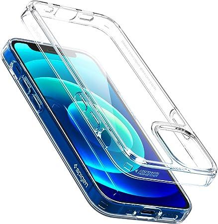 Spigen Quartz Hybrid Hülle Kompatibel Mit Iphone 12 Elektronik