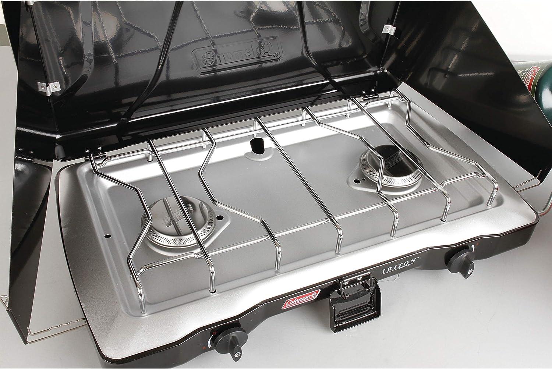 Coleman 2000020953 22000-Btu 2-Burner Perfect Heat Triton Propane Stove
