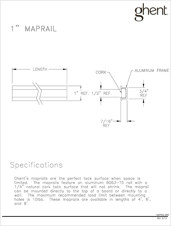 Gent Geschenkpapierrolle 244 244 244 cm Länge Aluminium 1 maprail mit Cork Einsatz 48 per carton natur B006SI1KOS | Schön geformt  | Neue Sorten werden eingeführt  | Genial  3ca572