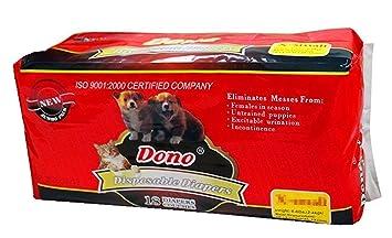 solagua Pañales Desechables para Cachorros Hembra para mascotas, super absorción x 5 tallas (10u