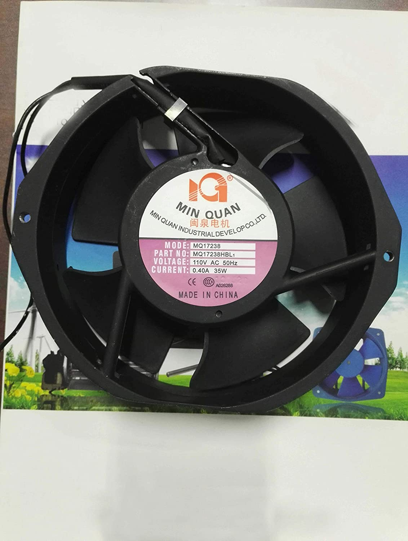 172x38mm MQ17238 MQ17238HBL1 110V 50Hz 0.4A 35W 2Wire 17cm AC Fan