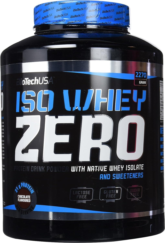 Biotech Isowhey Zero Lactose Free Proteínas Chocolate - 2270 gr