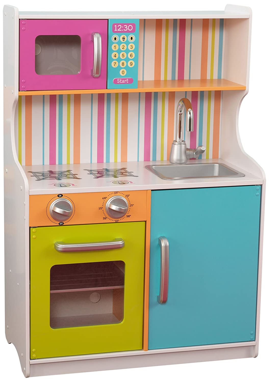 Hape Kühlschrank - Kidkraft Kinderkueche bunt