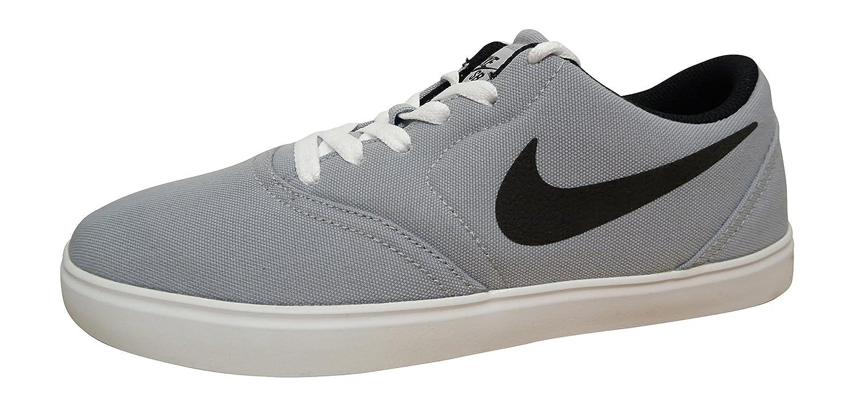NIKE Men's SB Check CNVS Skateboarding Shoes nk705268 402 10 D(M) US|Wolf Grey Black White 003