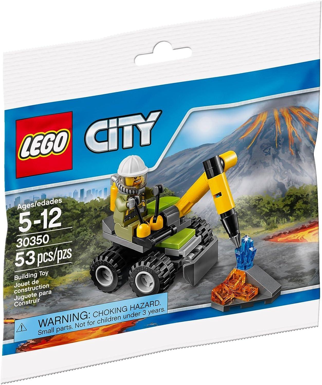 Lego 30350 Volcano Jackhammer (Exclusive Polybag)