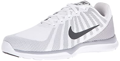 NIKE Women's In-Season TR 6 Cross Trainer, White/Anthracite/Wolf Grey