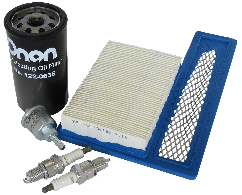 Amazon.com: Tune Up Kit for Onan RV Generators 5500 and 7000, HGJAA, HGJAB,  and HGJAC: Automotive