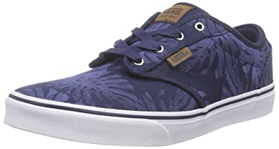 0956798052 Vans Atwood Deluxe (Palm Leaf) Little Kids Style  VN000ZST-FJA Size