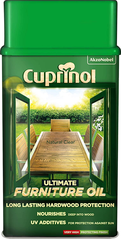 Cuprinol 5212402 Ultimate Furniture Oil Exterior Woodcare, Clear