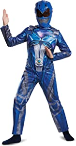 Disguise Ranger Movie Classic Costume, Blue, Small (4-6)