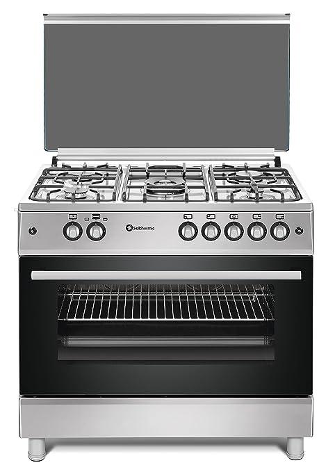 Cocina SolThermic F9L50G2-I PANORÁMICA de color Color INOX ...