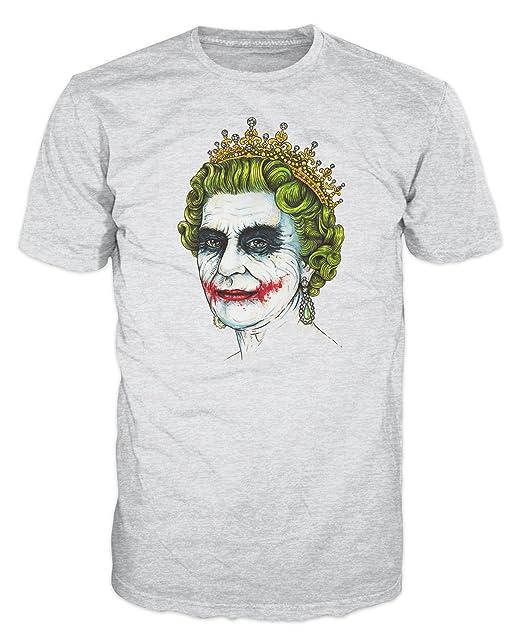 Dalesbury Banksy Queen Joker Urbano Camiseta (Gris) Gris Gris (Ash Grey) X-Large: Amazon.es: Ropa y accesorios