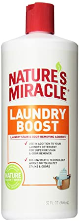 Natures Miracle Laundry Boost Stain and Odor Additive