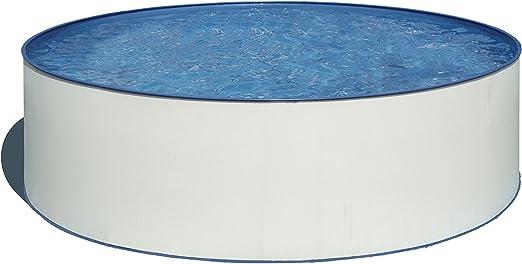 Gre Piscina Redonda KITPR3550E, Blanca, diámetro: 350 cm, Altura: 120 cm: Amazon.es: Jardín