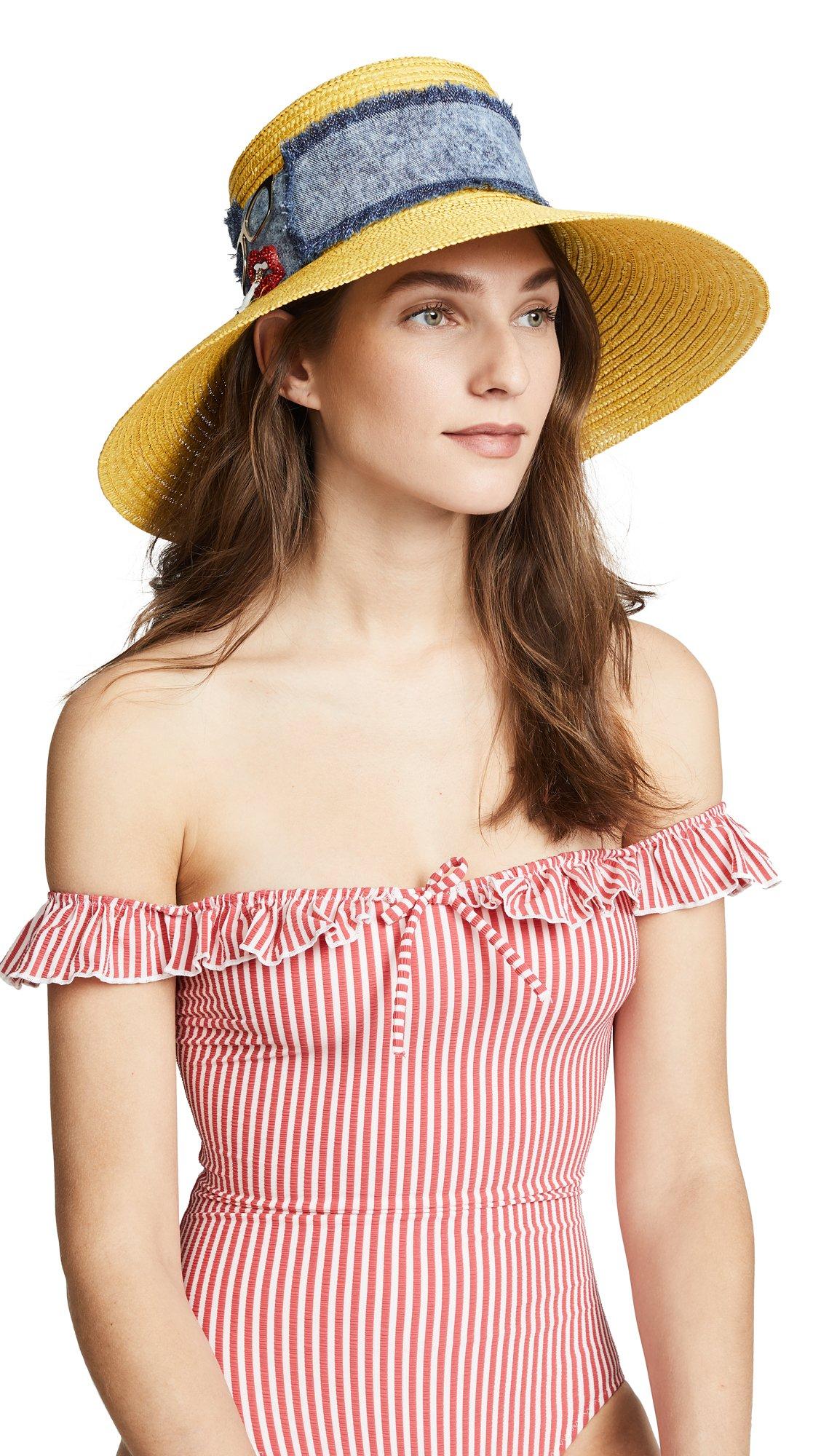 Eugenia Kim Women's Annabelle Hat, Yellow, One Size