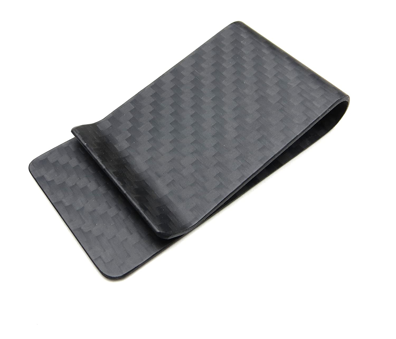 Amazon mcupper real carbon fiber money clip business card carbon fiber money clip genuine 3k weave fits up to 15 cards strong and magicingreecefo Gallery