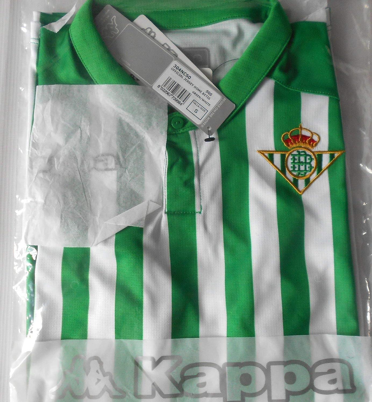Kappa Official Jersey Home Betis Camiseta de equipación, Hombre, Neutro, XL: Amazon.es: Deportes y aire libre
