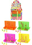 12 x Mini Connect 4 Line Up 4 In A Row Four In A Line Board Game Family