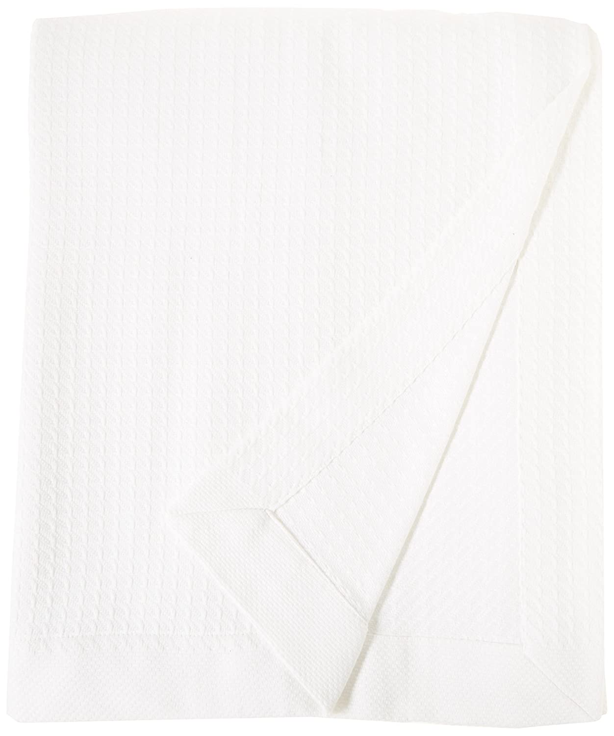 Madison Park 100/% Certified Egyptian Cotton Blanket White Full//Queen MP51N-5163