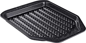 Prestige Nonstick Cookie Baking Sheet/Crisper Pan, 11 Inch, Black with Gold Speckle