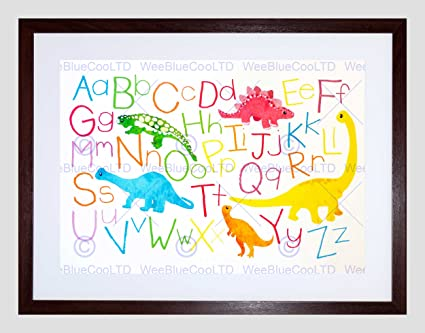 Amazon Com Paintings Drawing Children Kids Dinosaur Alphabet Colour