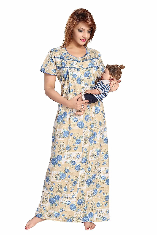 Soulemo womens premium feeding nighty maternity dress nursing soulemo premium womens feeding nighty maternity dress withft pc fabric now with ombrellifo Choice Image