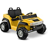 Hummer H2 12V Two Seater, Yellow