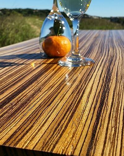 Amazon Com Zebrawood Coffee Table Handmade