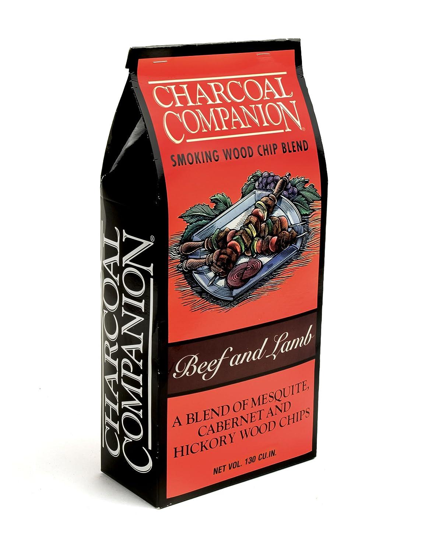 Charcoal Companion CC6014 Mélange de copeaux de fumage pour bœuf et agneau Bois Marron 7, 59 x 15, 6 x 32, 79 cm The Companion Group