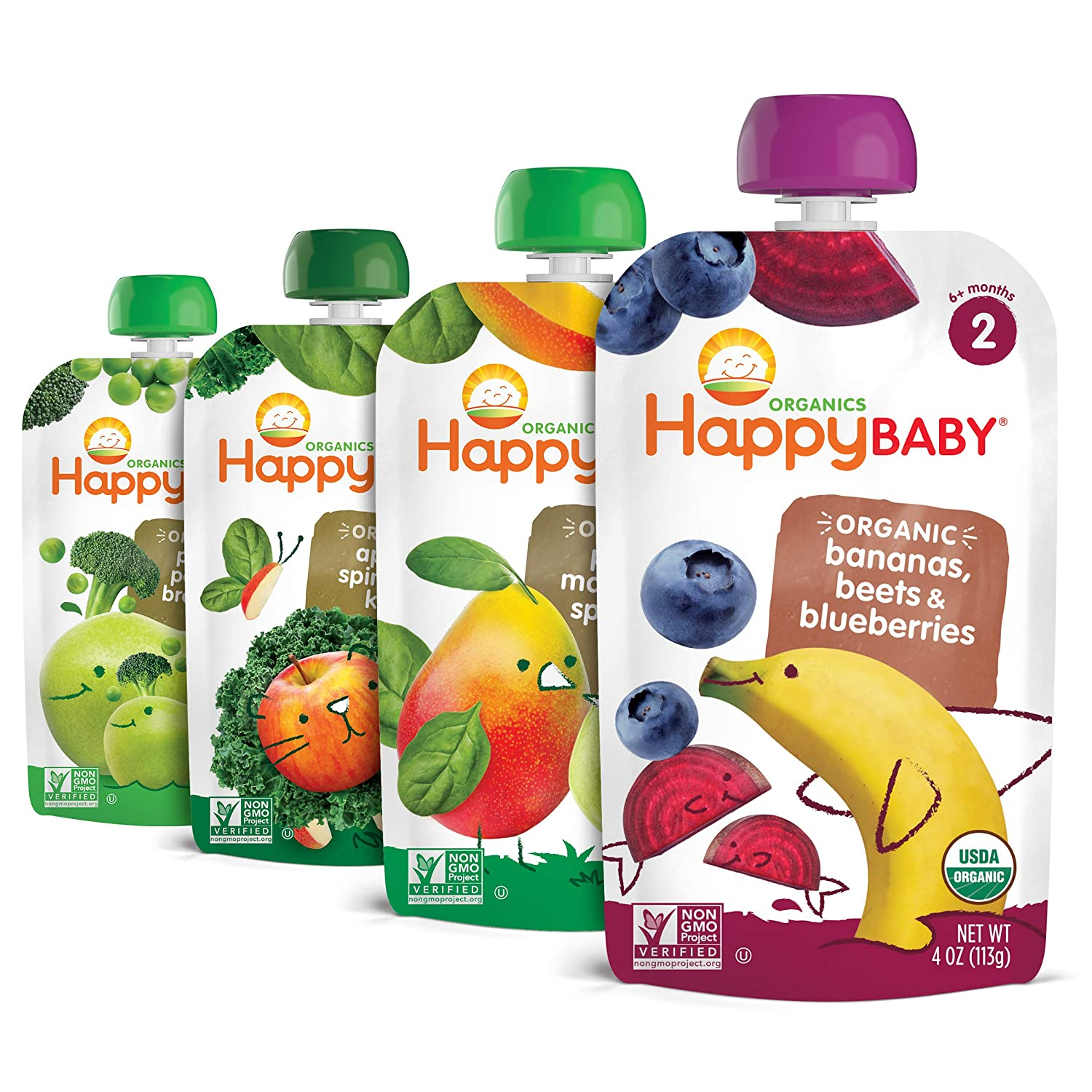 Happy Stage 2 Baby Food