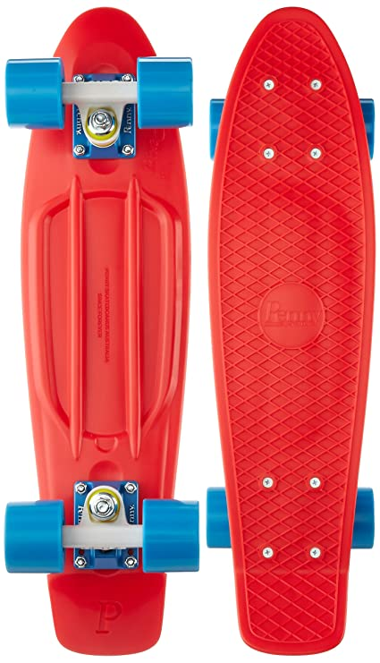 Verwonderlijk Amazon.com : Penny Complete Skateboard, 22-Inch, Red/White/Cyan TR-33