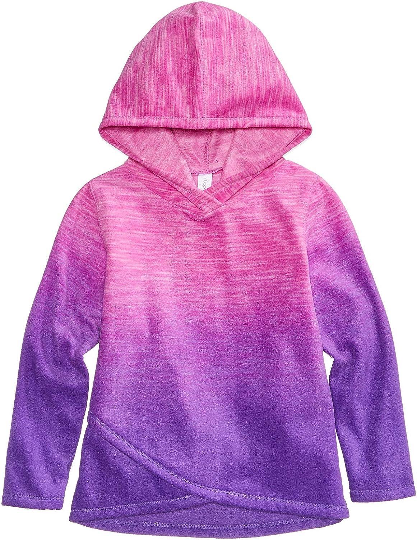 Little Girls Purple Size 3T Ideology Ombr/é Fleece Hoodie