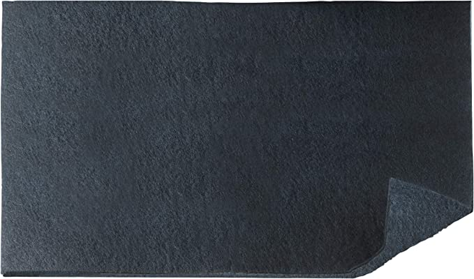 Wenko - Filtro de carbón activo para campanas extractoras contra olores de cocina (poliéster, 57 x 47 cm), color negro: Amazon.es: Hogar