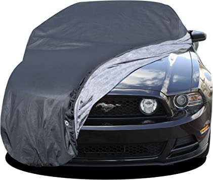Ford Mustang Convertible Car Cover Fit 2005-2014 Waterproof Breathable 9 Layer