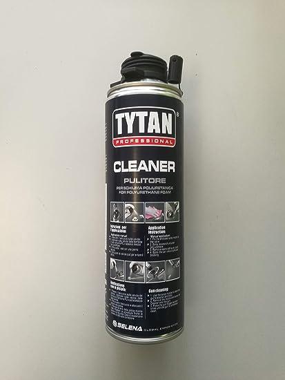 Limpiador Desengrasante Limpiador para espuma poliuretano 500 ml – Tytan