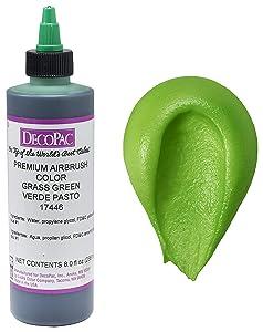 DECOPAC Premium Airbrush Color, Grass Green, 8 oz