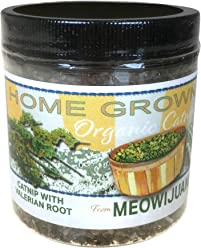 Meowijuana Catnip with Valerian Root Blend, Feline Approved, Infused with Maximum Potency Your Cat is Guaranteed to go Crazy for!