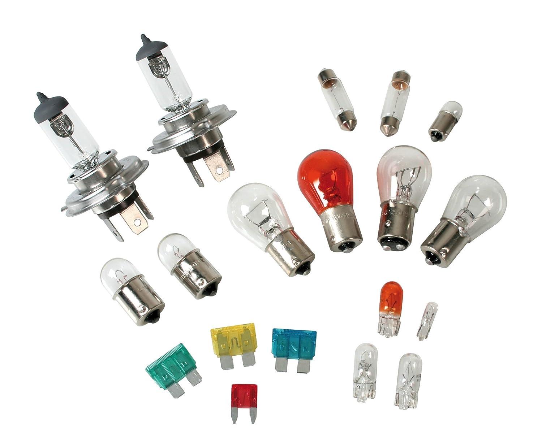 Lampa 58163 Kit de Recambio de Bombillas Haló genas H4 2 x, 12 V, 19 Unidades