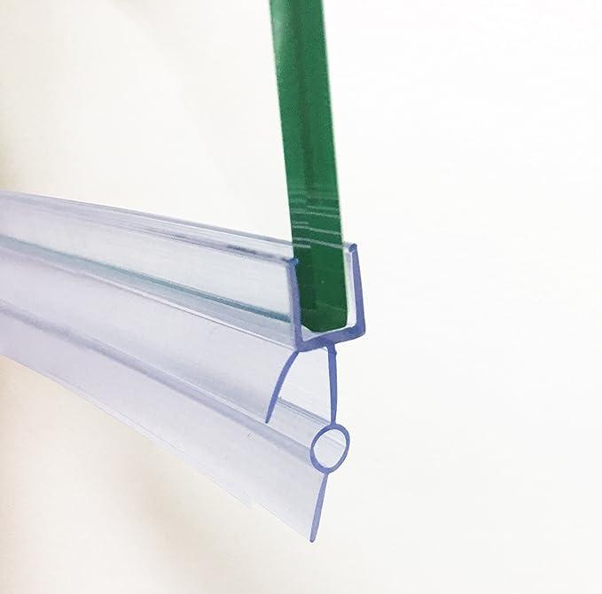 Soporte de goma de plástico HNNHOME, para mampara de baño o de ...