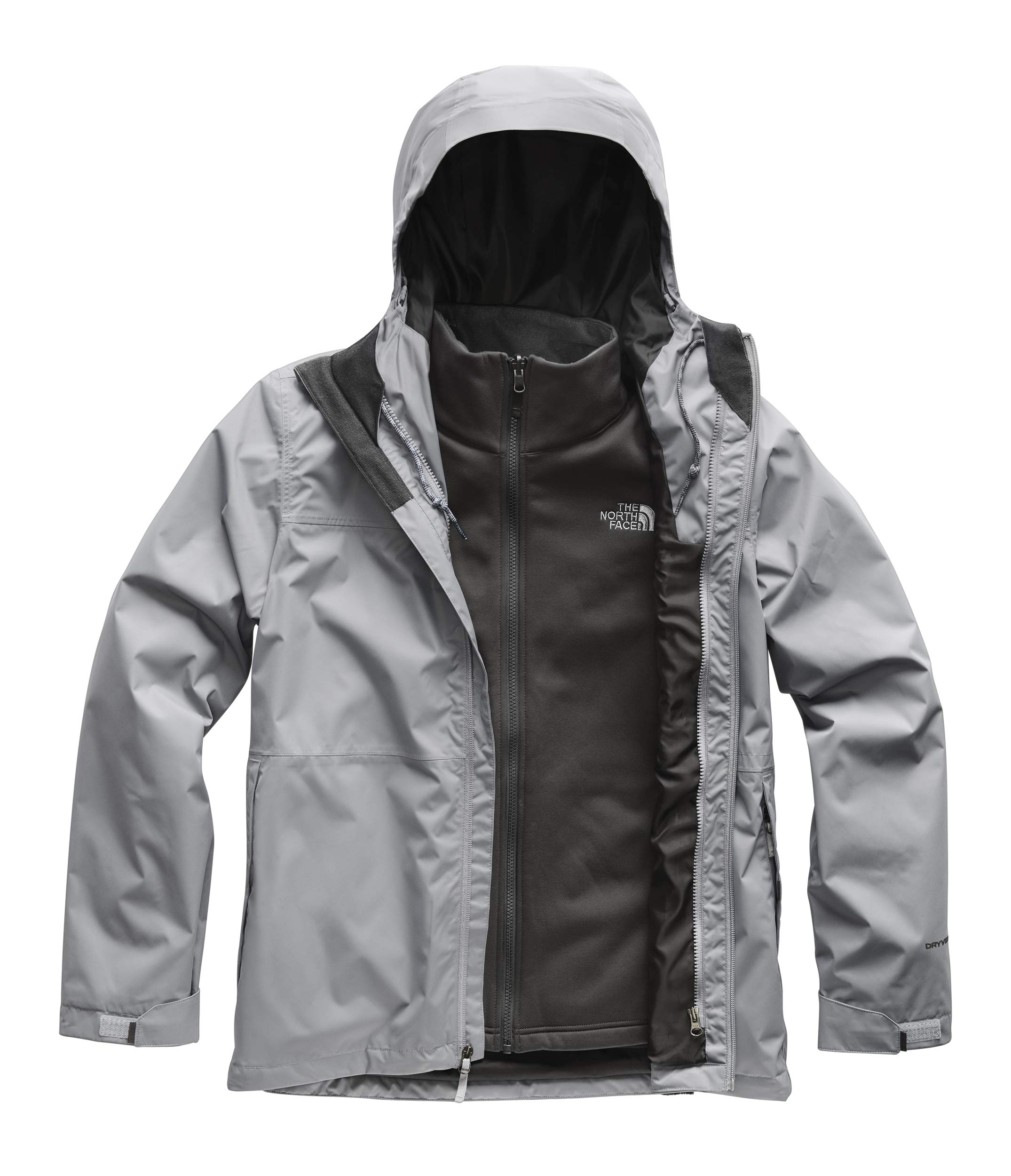 The North Face Men's Arrowood Triclimate Jacket, Mid Grey, X-Large by The North Face