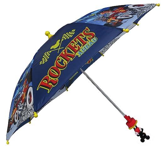 Disney Paraguas de Mickey Mouse - mango 3D: Amazon.es: Ropa y accesorios
