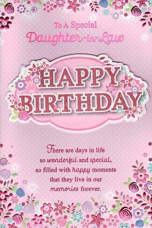 Nuora Biglietto Di Auguri Per Compleanno Per Una Speciale Nuora